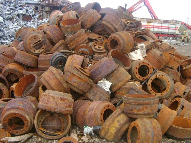 iron scrap hms and cast iron