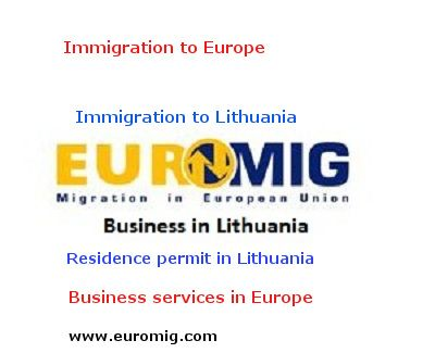 Schengen visa, residence permit in Lithuania, immigration to Europe
