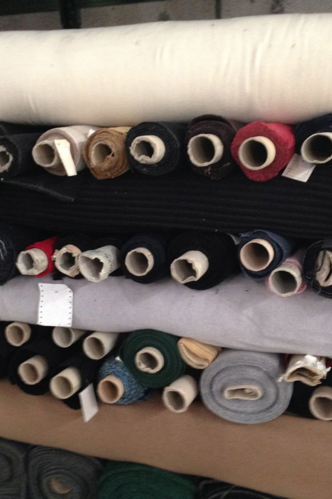 Stock Fabric Wool Blend