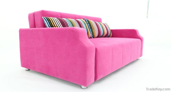 Modern Colourful Functional Sofa Bed