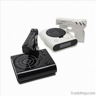 Novelty Gun alrm clock