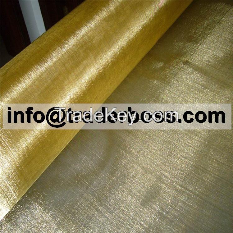 Custom Brass Wire Mesh