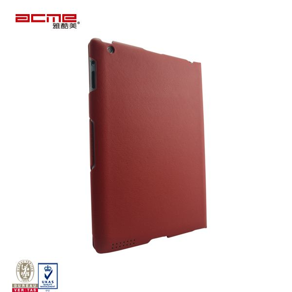 PU leather 360 rotating stand smart case cover for iPad 2 3 4,