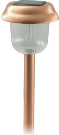 Copper Tone Solar Light