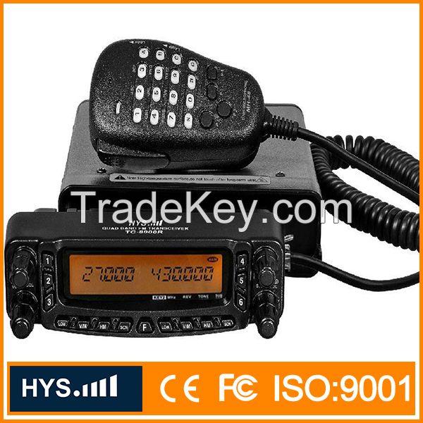 CE FCC quad band mobile radio TC-8900R