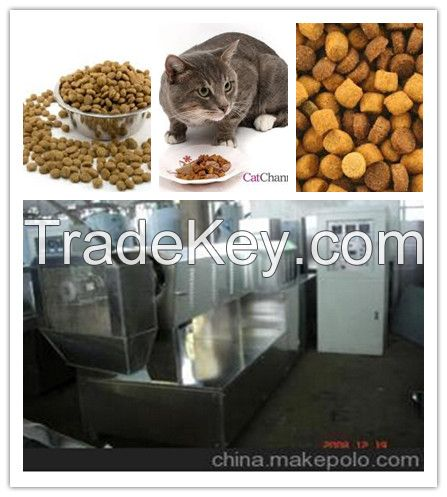 Pet Cat Dog Food Extrusion Machine