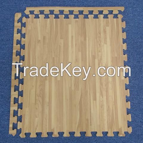 Wooden EVA Gym mats