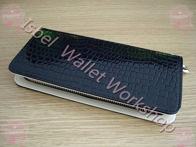 new fashion lay women long purse wallet high quality zip bag card hold