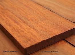 African hardwood lumber
