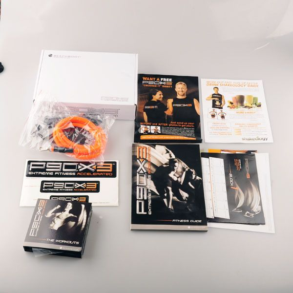 Hot Selling P90X3 workout fitness videos DVD Set with original package DHL free shipping