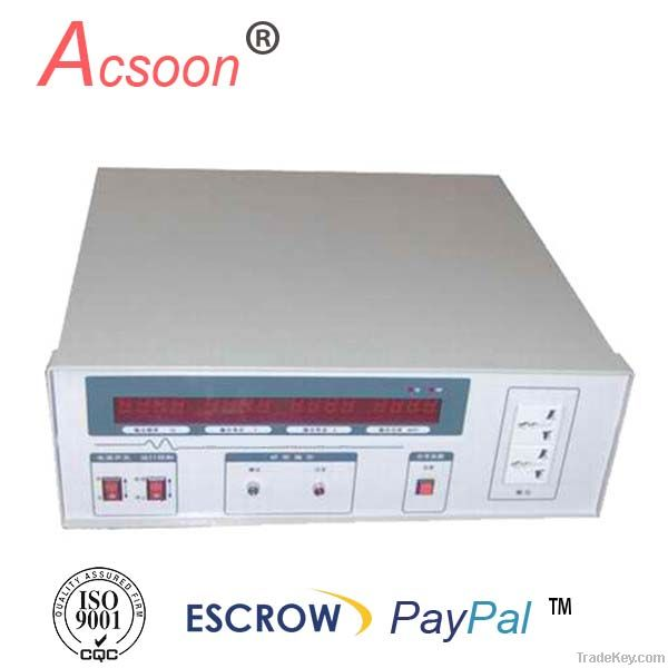 automatic voltage frequency stabilizer