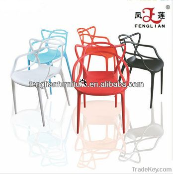 PP Modern Italy Design Leisure Master Plastic Chair