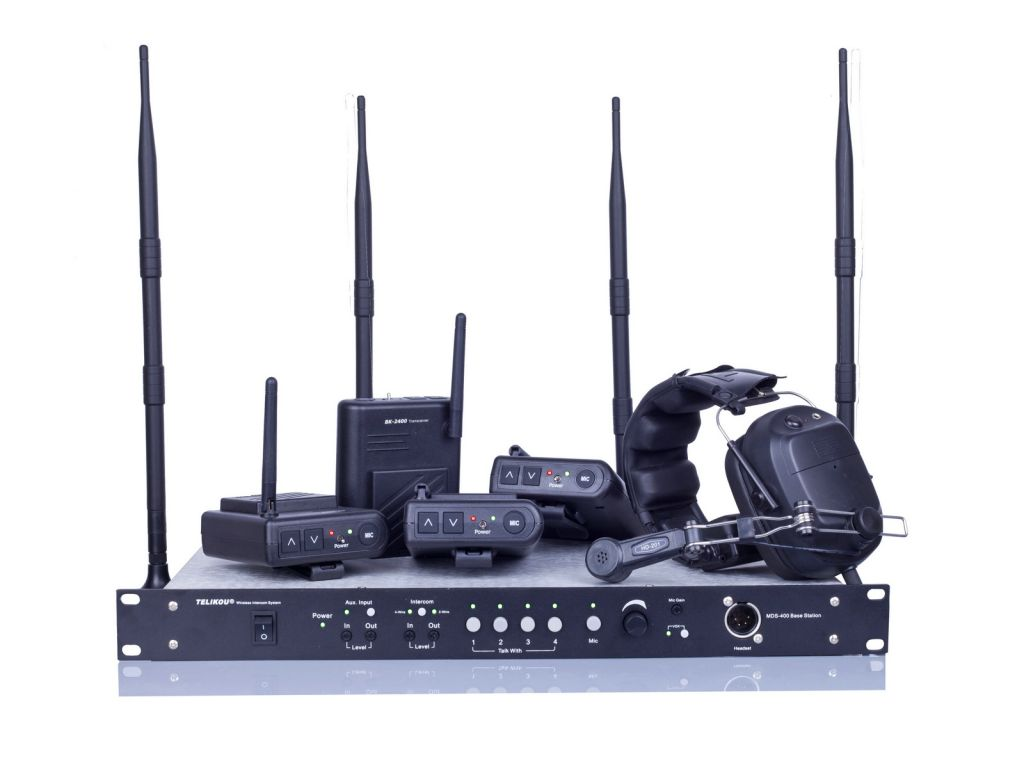 20% off !!! MDS-400 Full Duplex Wireless Intercom system Main Station