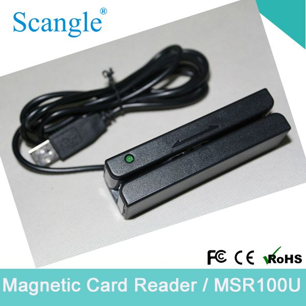 Track 3 USB Magnetic Card Reader POS Card Reader