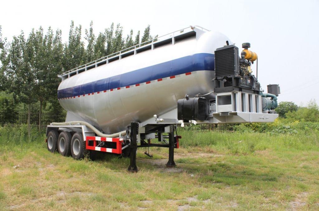 bulk cement tanker trailer