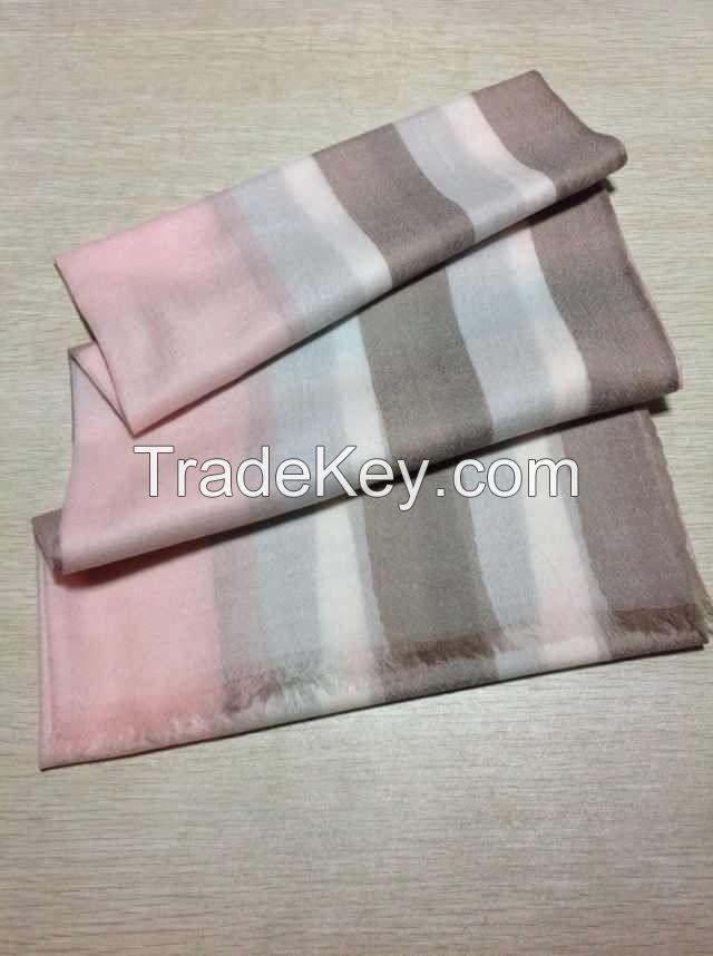 Pure 100% Cashmere Scarves, shawls, carpets