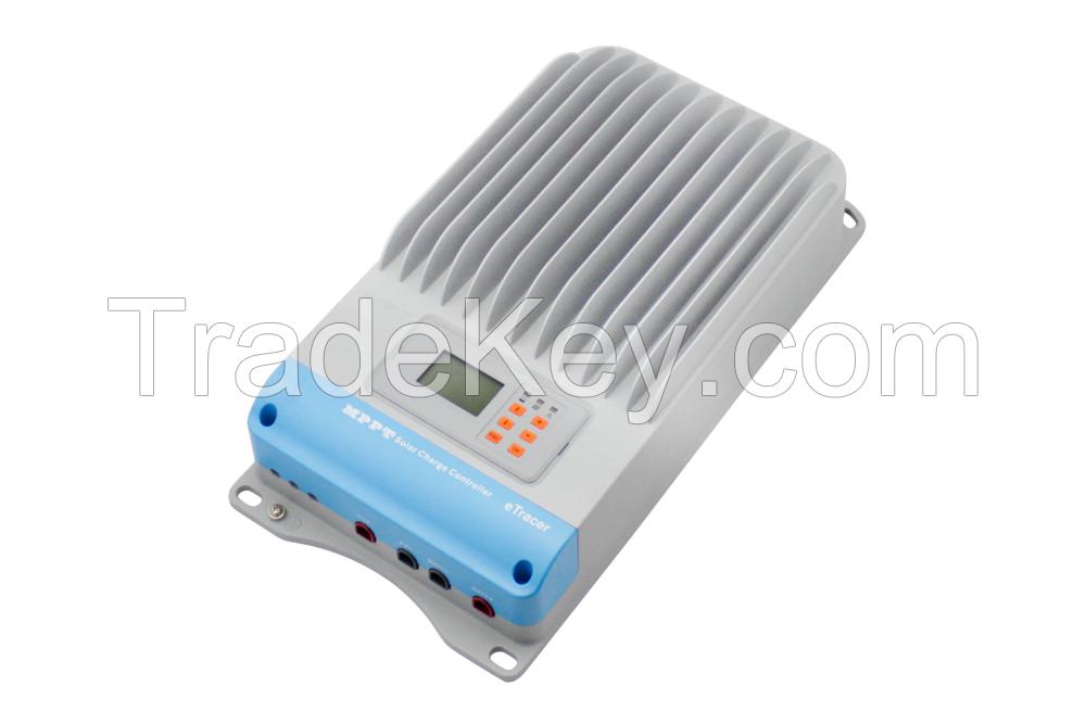 12/24/36/48V 45A/60A MPPT Solar Charge Controller new etracer ET4415/ET6415