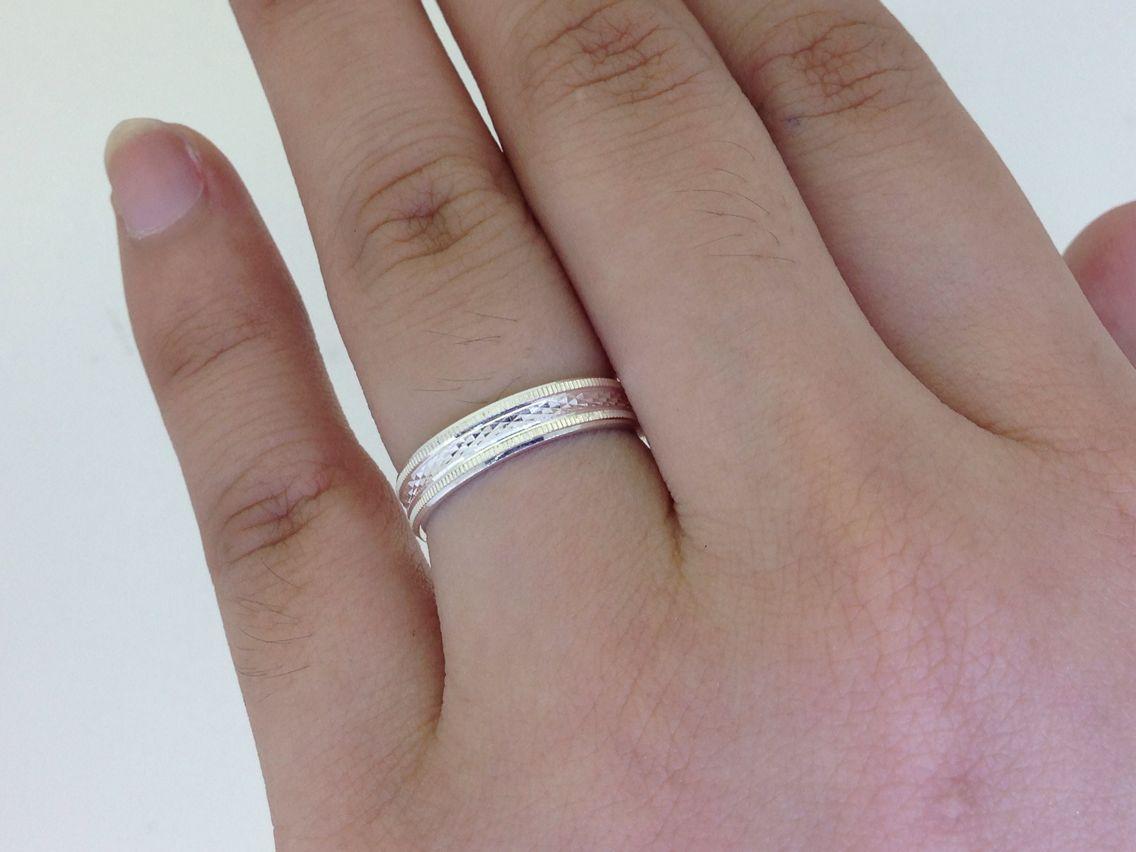 92.5% Silver Wedding Rings