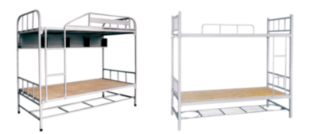 SCHOOLD BEDS AND DINING TABLE