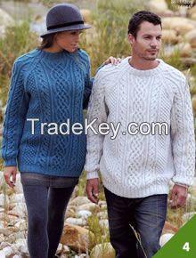 Luxurious Aran jumpers