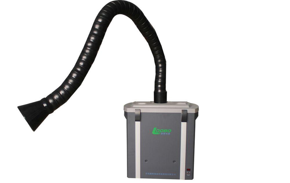 Portable laser/soldering fume extractor