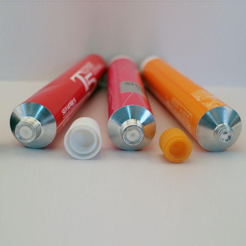 collapsible aluminium tube,flexible aluminium tube,soft aluminium tube