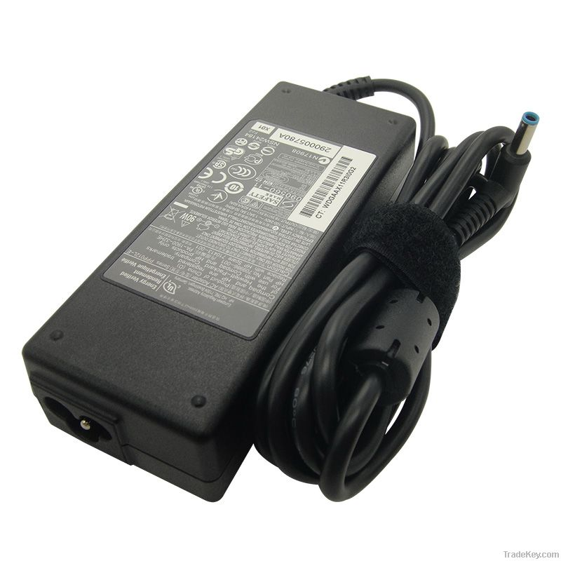 19.5V 4.62A laptop adapter for HP/Compaq with blue DC pin 4.5*3.0mm