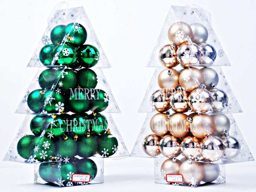 Christmas plain balls