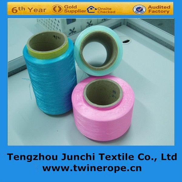 Colors high tenacity pp multifilament yarn for webbing