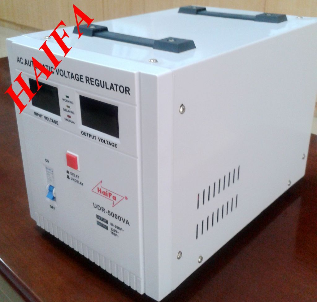 UDR5000W Automatic Voltage Regulator Power Stabilizer