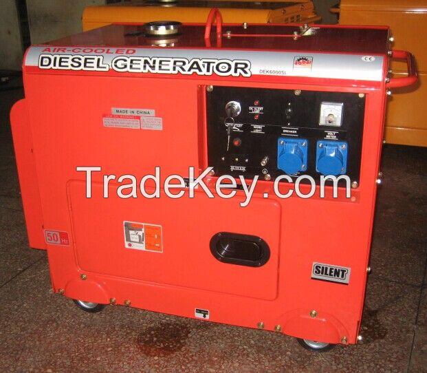 5KVA Silent Air Cooled Diesel Generator