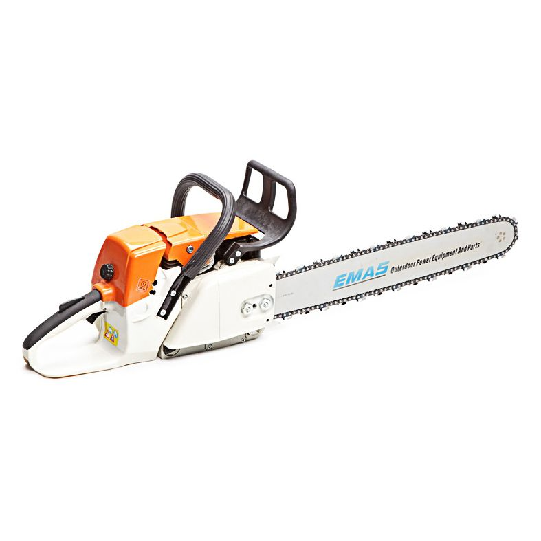 gasoline chainsaw, brush cutter, concrete saw, and spare parts