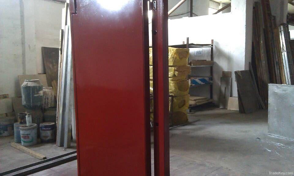 Industrial soundproof door, sound insulating door, acoustical door