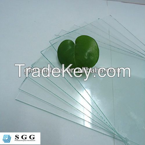 High quality 2mm clear sheet glass