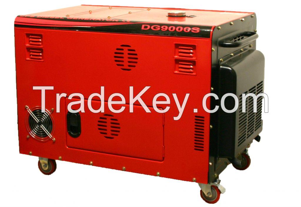 9kw Silent set diesel generator