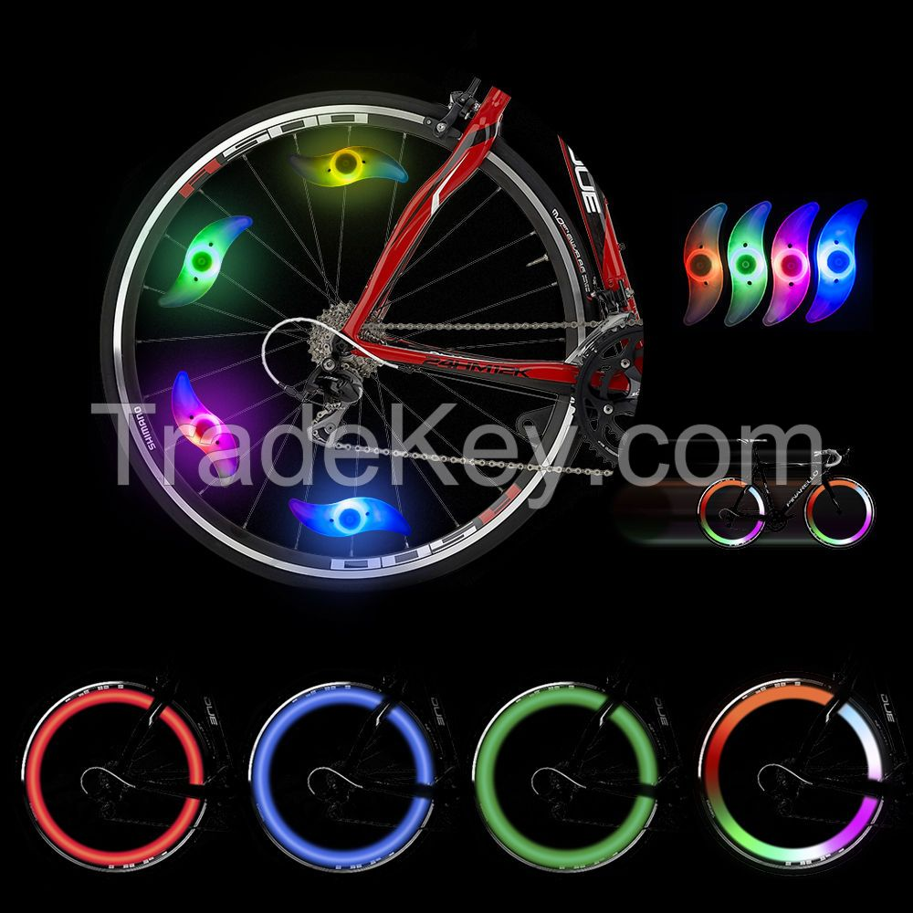 Hot sale colorful led bicycle wheel light