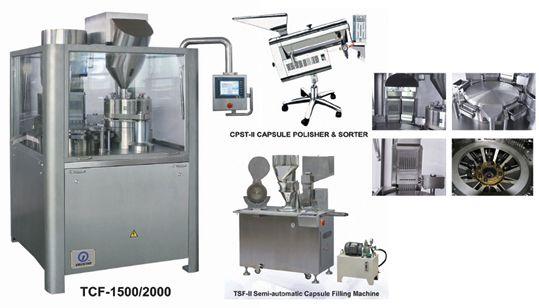 TCF Series Capsule Filling Machine