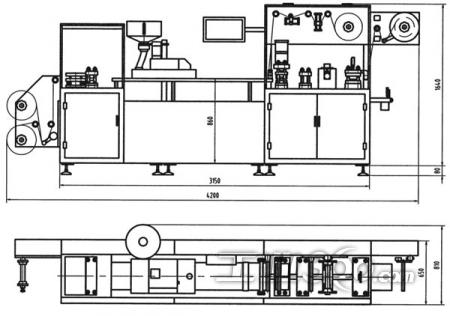 DPP-250 Blister Packaging Machine