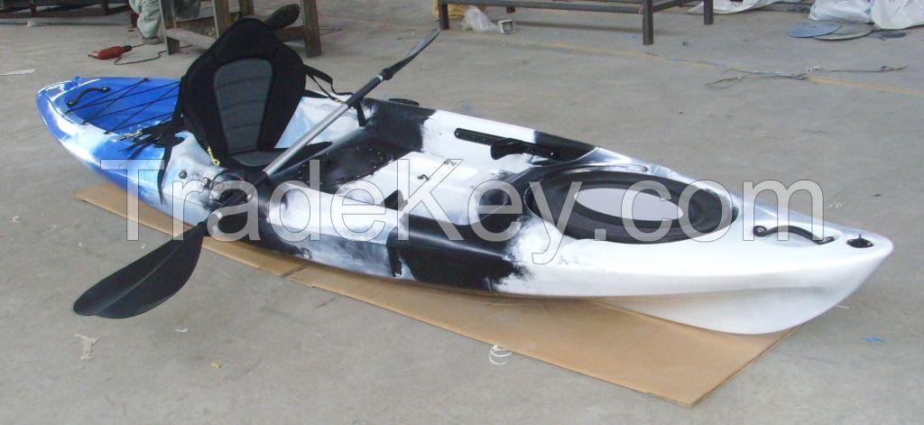 Single Seat Kayak 250KG Max. Weight Capacity