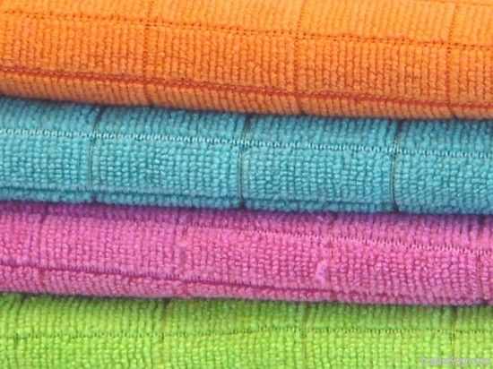 Drying Microfiber cleaning cloth