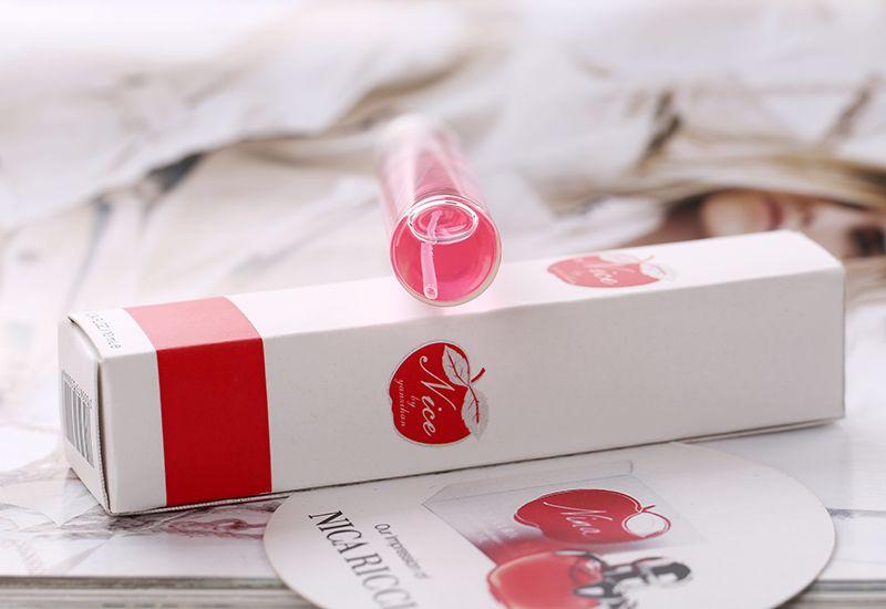 2014 New Designed Women Mini Portable Glass Bottle Spray Tube Perfume