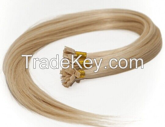 pre-bonded hair extension / Flat tip hair extension