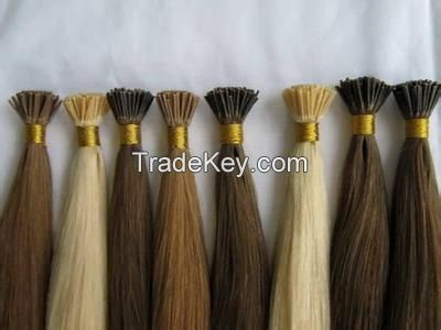 pre-bonded hair extension /I tip hair extension