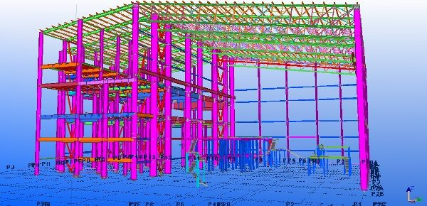 Steel and Concrete Structure designs and drawings