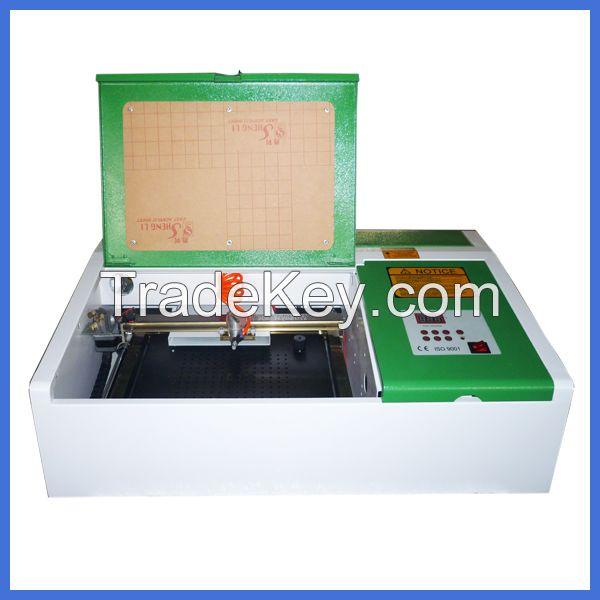 40w cheap mini desktop laser stamp/wood/acrylic engraver machine