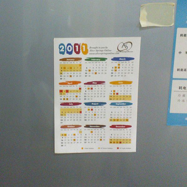 Custom calendar printing service