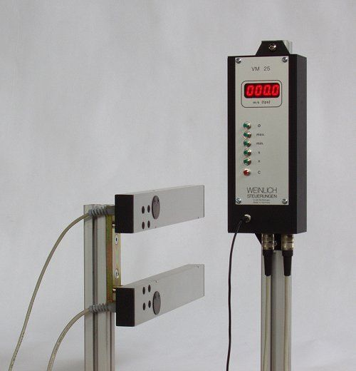 VM velocity meters for flying objects, bullet velocity meters