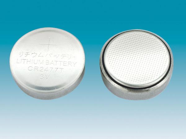 lithium button cell CR2477