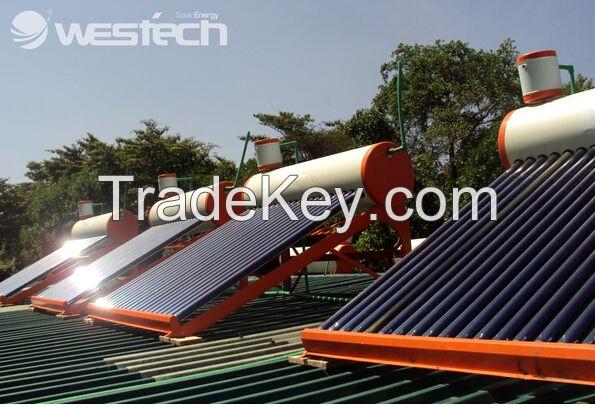 Secondary Heat Exchange Solar Heater