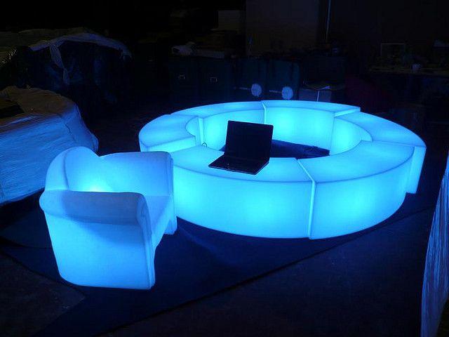Garden Lighting Decoration Furniture Led Park Bench, Led Bench,led park bench/illuminating led bench/led light bench